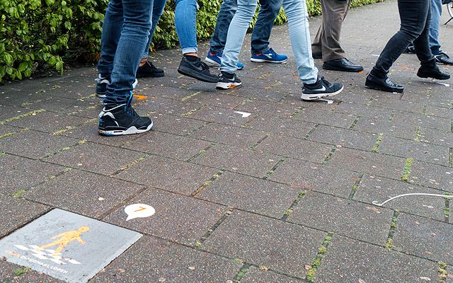 Opening Kwiekpad Diagonaal lopen (14)
